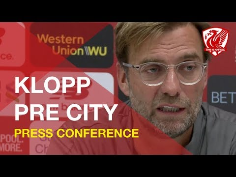 Liverpool vs. Man City | Jurgen Klopp Press Conference