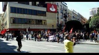 Llega a La Roda desde Albacete la columna sudeste de la Marcha de la Dignidad #22M