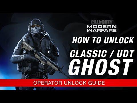 Modern Warfare How To Unlock Classic Udt Ghost Operator Unlock