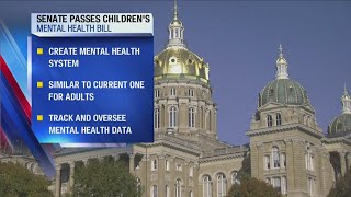 Children's mental health bill moves to Governor's desk