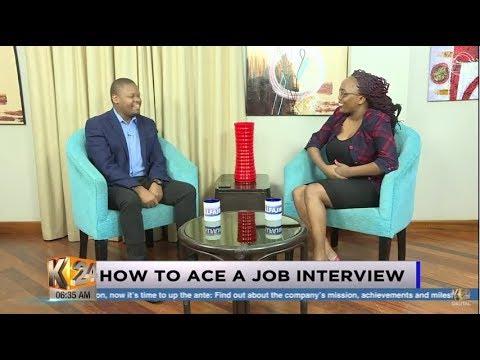 #K24Alfajiri Rise and Shine: How to ace a job interview