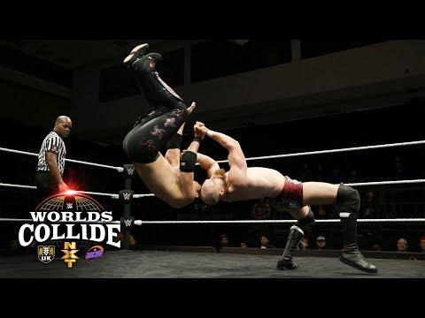 Humberto Carrillo vs. Zack Gibson - First-Round Match: WWE Worlds Collide, Feb. 2, 2019
