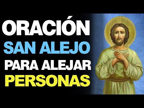 🙏 Oración Poderosa a San Alejo para Alejar PERSONAS INDESEABLES 🙇♂️