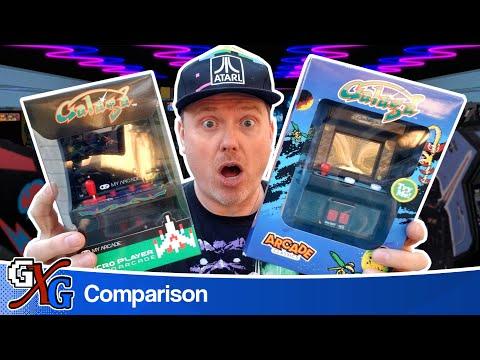 Galaga: Arcade Classics vs My Arcade | Mini Arcade Showdown!
