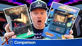 Arcade Classics Galaga vs My Arcade Galaga | Mini Arcade Showdown!