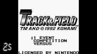 Track & Field (Gameboy) - playthrough