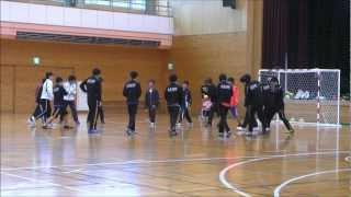 麻布中高ハンドボール部春合宿−1−(2013年3月31日)