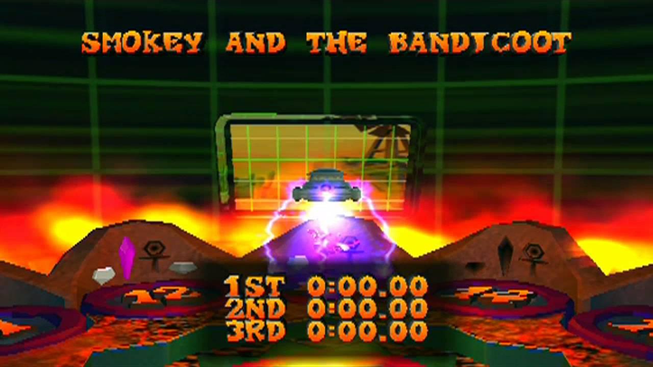 Aninimal Book: Crash Bandicoot: The Wrath of Cortex - Level 13: Smokey ...