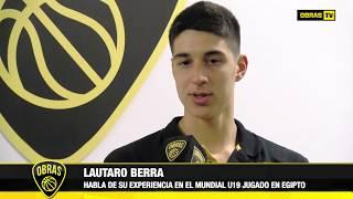 Lautaro Berra - Mundial U19 - Obras Basket (17-07-2017)