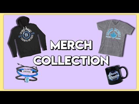 Shawn Mendes Merch Collection / Review