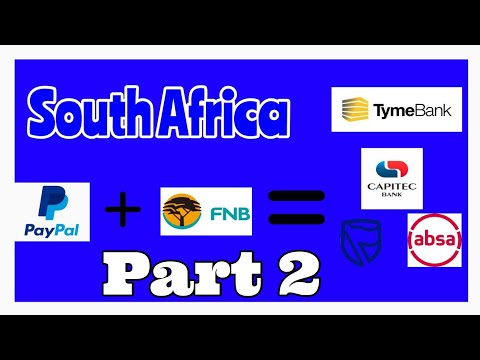 How to link any South Africa bank account to PayPal part 2