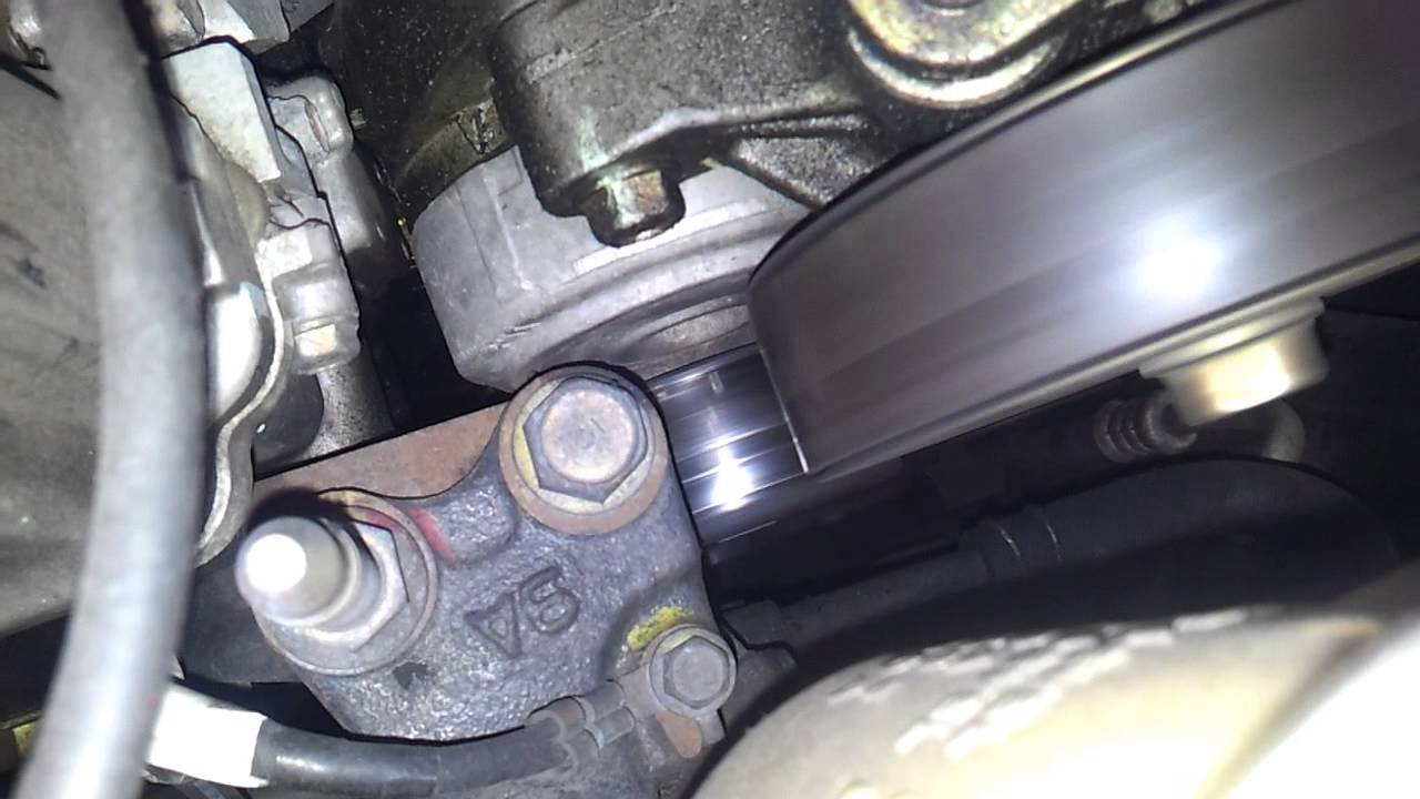 hight resolution of 2002 honda crv tensioner fail finding evidence youtube 2002 honda crv tensioner fail finding evidence