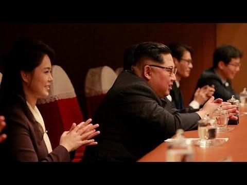 Kim Jong-un attends K-pop performance by South Korean artists in Pyongyang