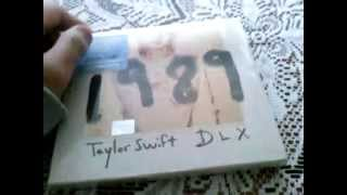 Unboxing Taylor Swift 1989 (Deluxe) Español