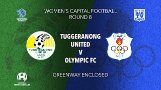 2019 NPL Capital Women's - Round 8 - Tuggeranong United FC v Canberra Olympic FC