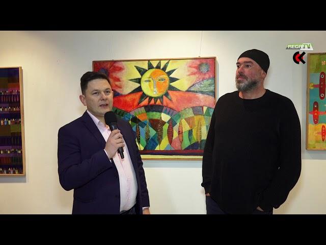 Wernisaż i recital Tomasza Budzyńskiego w Połczynie-Zdroju