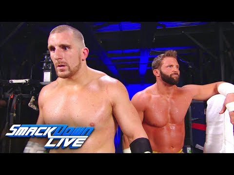 The Hype Bros vow to make a change: SmackDown LIVE, Sept. 19, 2017