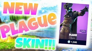 INSANE NEW PLAGUE SKIN IN FORTNITE!!! Daily Shop 10.11.18 || 2,500 VBUCK GIVEAWAY!