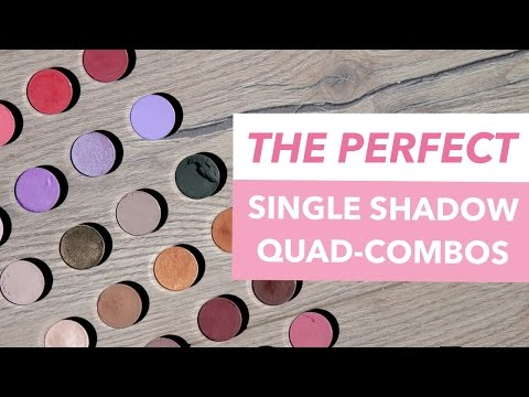 The PERFECT Single-Shadow Quad Combos: Shades That ALWAYS Work Together   Mariah Leonard