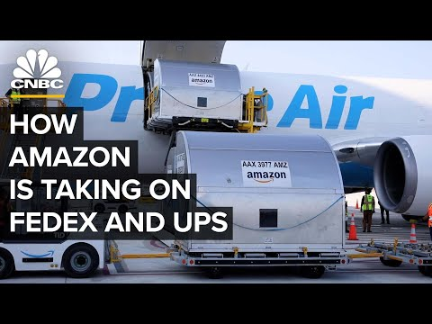Amazon Is Quietly Shipping Non-Amazon Orders To Compete With FedEx, UPS