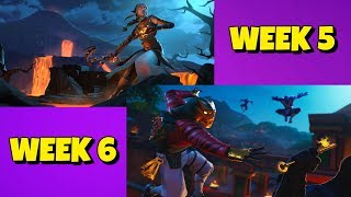 Season 8 WEEK 5 & 6 Loading Screen SECRET BATTLESTAR in Fortnite
