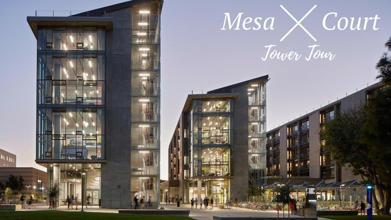 UCI Mesa Court Tower Tour