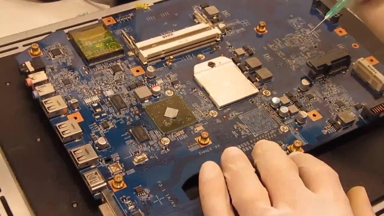 Northbridge Acer Aspire 5536 5542 5542G  Reparatur Mainboard Grafikchip