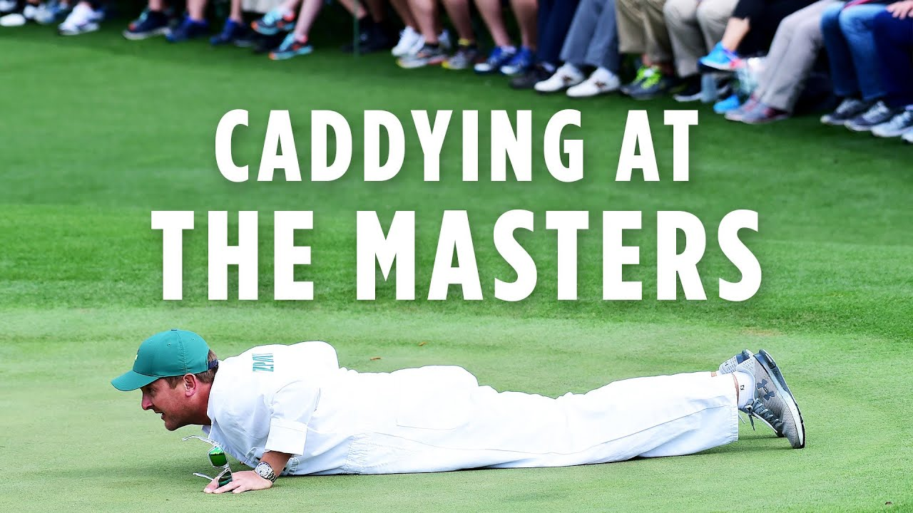 Caddying at The Masters! | Jamie Lane & Dan Parratt