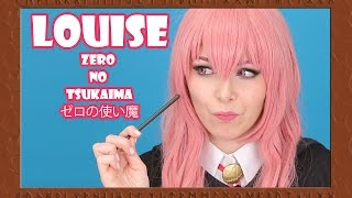 LOUISE ❤ ZERO NO TSUKAIMA ❤ COSPLAY TUTORIAL