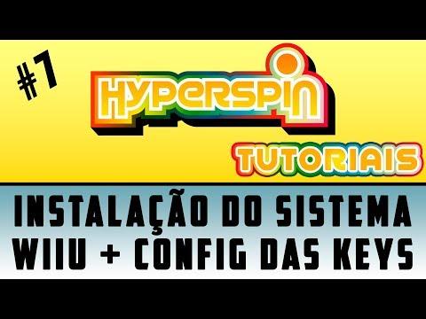 """HYPERSPIN #7 / INSTALAÇÃO DO SISTEMA NINTENDO WII U / CONFIG DAS """"KEYS"""" NO CEMU / SÉRIE"""
