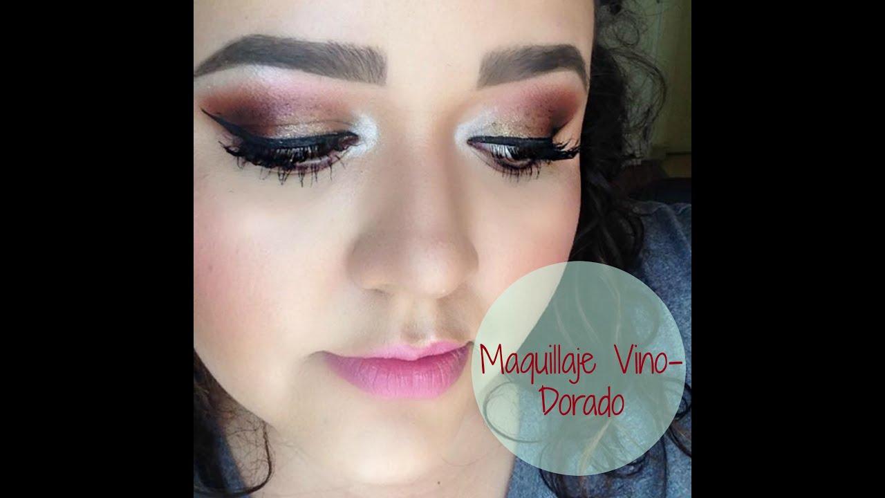 Maquillaje De Noche Para Vestido Rojo Vino Patrones De