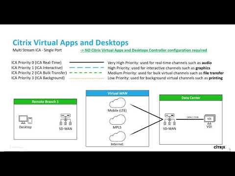 Tech Insight - Citrix SD-WAN single-port multi-stream