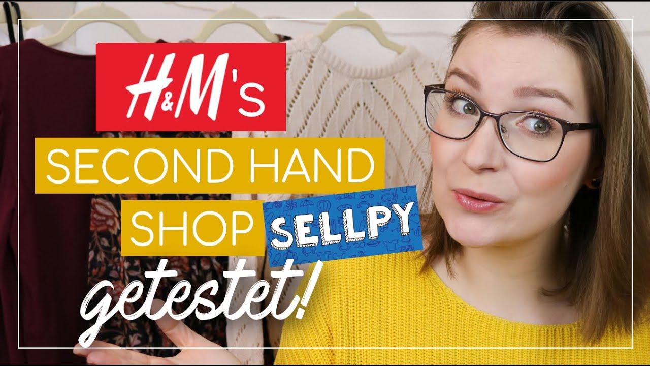 kleidung online verkaufen und kaufen bei sellpy 👖👚📦 h&m's second hand  shop im test