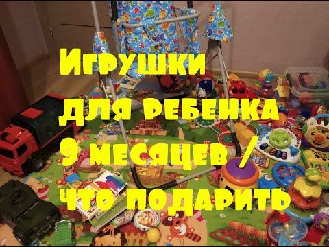 Игрушки для ребенка 9 месяцев / что подарить