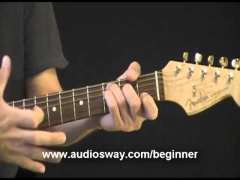Beginner Guitar Lesson -12 Guitar Chords That All Guitar Lessons ...