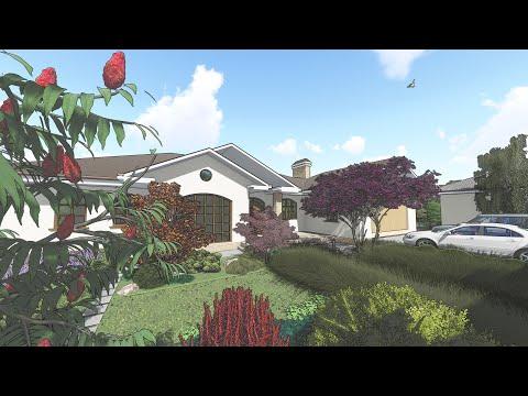 Проект ландшафтного дизайна Апрель 2019 (Green House Одесса)