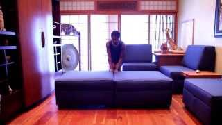 Duobed: How To Attach Storage Ottomans