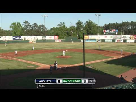 Baseball: Augusta vs. Georgia College (Game 1)