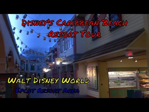 Disney's Caribbean Beach Resort Tour at Walt Disney World