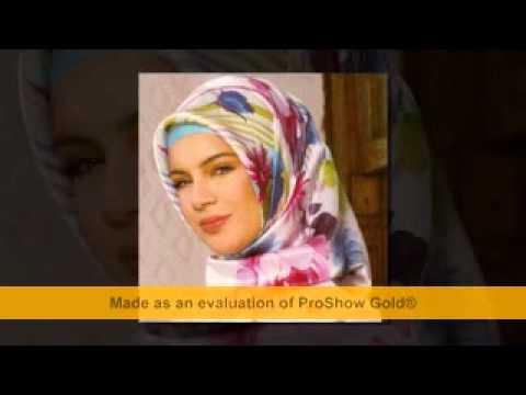 Basi Bagli Qizlarin Gozel Sekilleri - YouTube