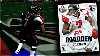 MADDEN 2004 MIKE VICK IS UNSTOPPABLE! Old School Madden Gameplay