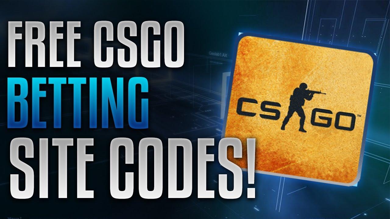 cs go betting sites free codes