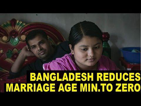 New Bangladesh Law 'Reduces Marriage Age to ZERO'