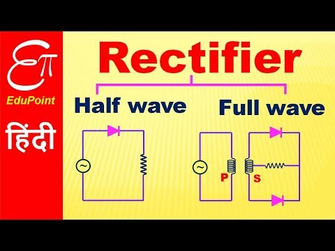 Rectifier - Half wave and Full wave | video in HINDI
