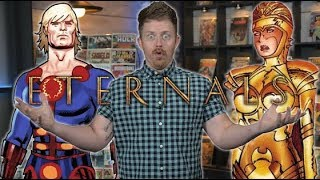 The Eternals First Appearance - Major Issues