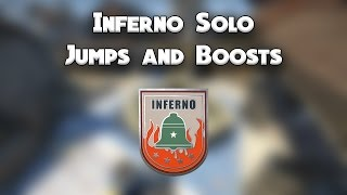 [CS:GO] Inferno | 7 Solo Jumps/Boosts