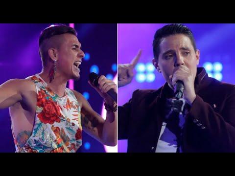 Los Cuatro Finalistas: mira el duelo entre Miguel Laporte y Farik Grippa