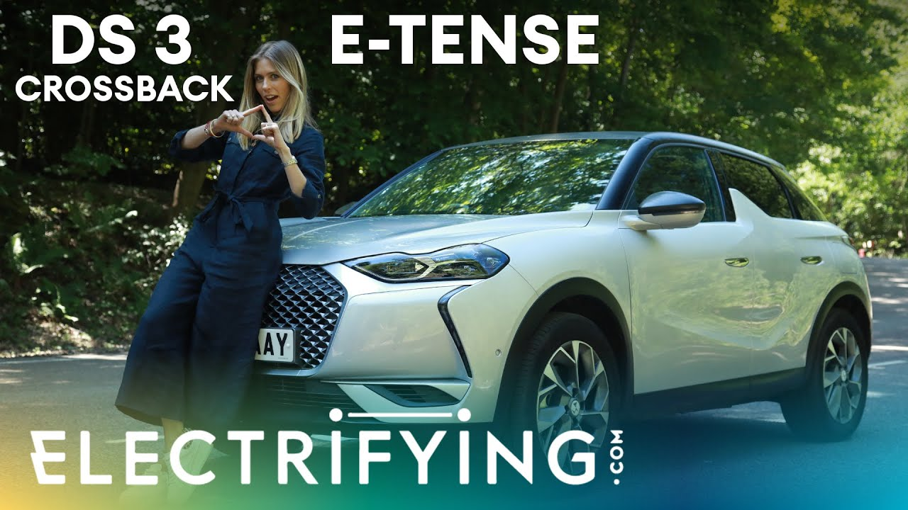 DS3 Crossback E-Tense SUV 2020: In-depth review with Nicki Shields / Electrifying