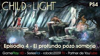 Child of Light Gameplay - Episodio 4 El profundo pozo sombrio   SeriesRol