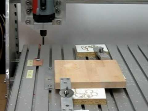 CNC USB Controller - Milling a hearth